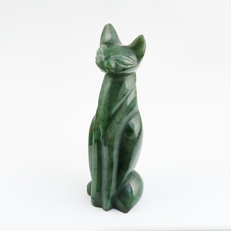 Котик нефрит зеленый 11 см