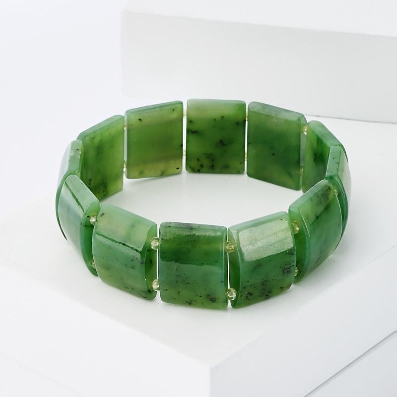 Браслет нефрит зеленый 18 см браслет stone будда нефрит браслет stone будда нефрит