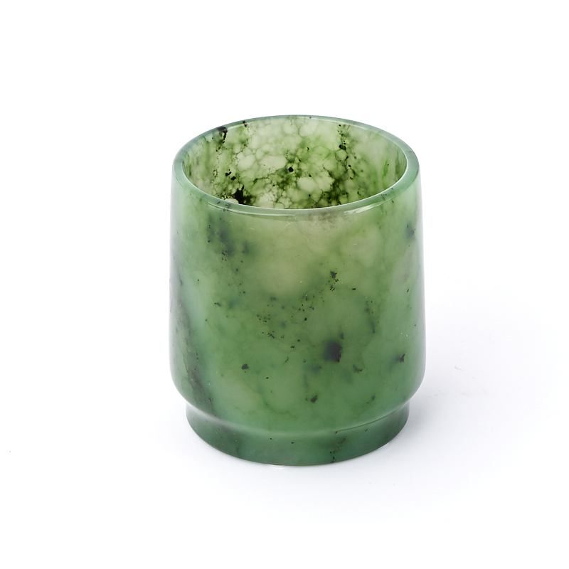 Посуда нефрит зеленый (рюмка) 4,5х4 см