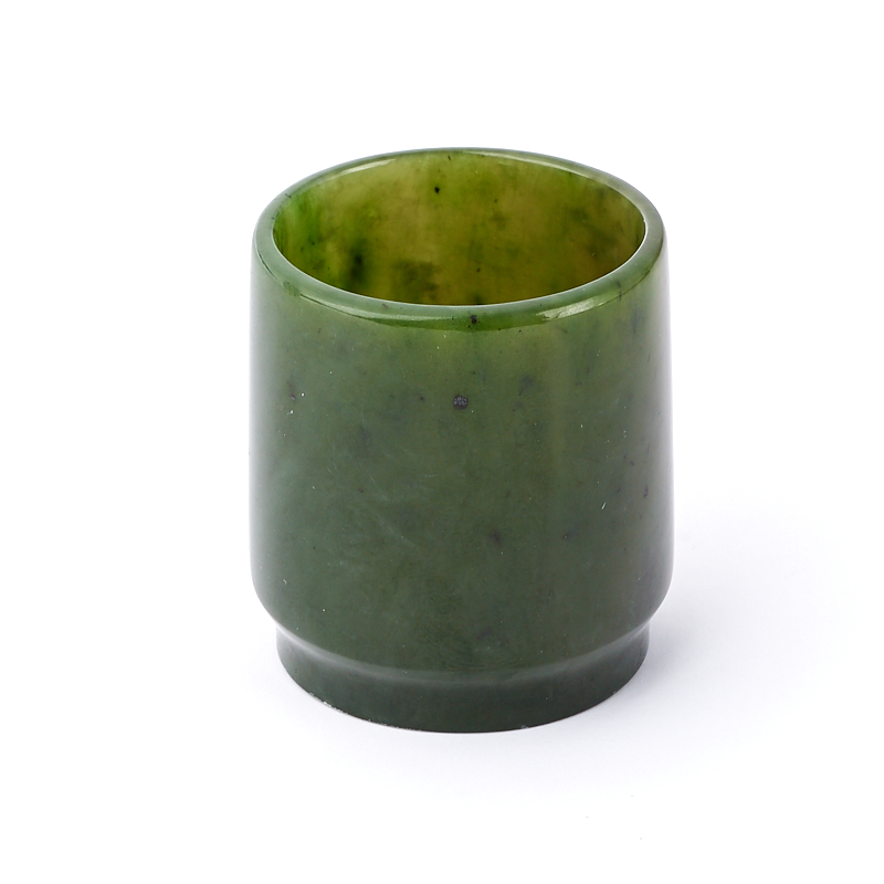 Посуда нефрит зеленый (рюмка) 4х4 см