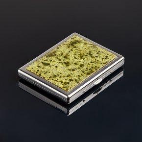 Портсигар змеевик Россия 8х10,5 см