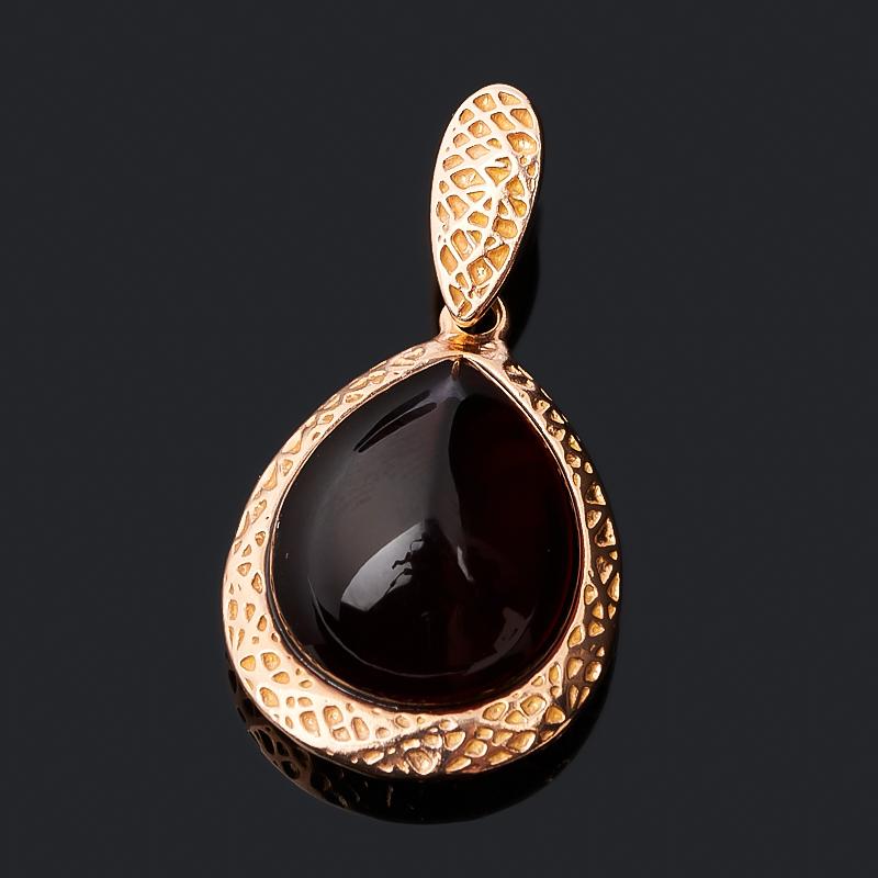 Кулон янтарь (серебро 925 пр. позолота) капля кулон янтарь серебро 925 пр