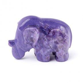 Слон чароит Россия 7,5 см