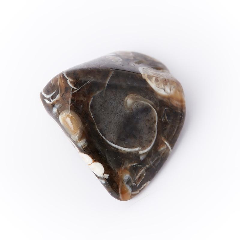 Галтовка агат черепаховый США (0,5-1 см) (1 шт)