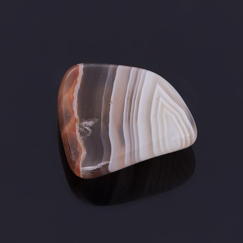 Галтовка агат серый Ботсвана (0,5-1 см) (1 шт)