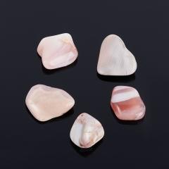 Галтовка агат розовый Ботсвана (0,5-1 см) (1 шт)