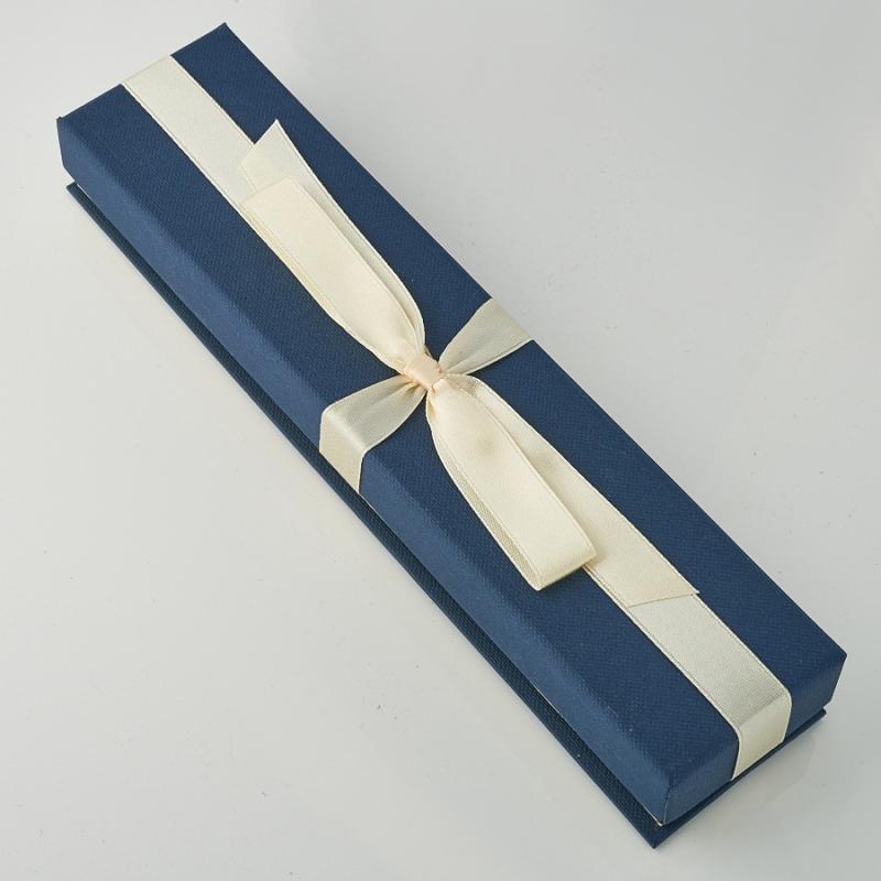 Подарочная упаковка под цепь/бусы/браслет 200х45х23 мм
