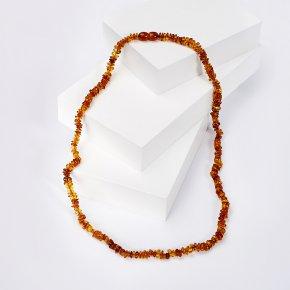 Бусы янтарь Россия (пластик) 46 см