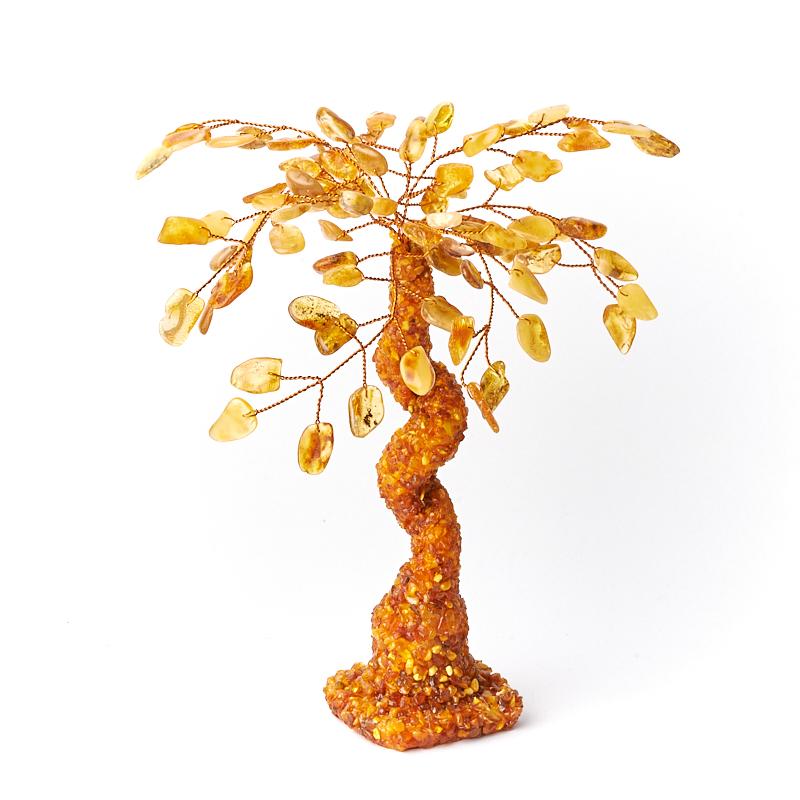 Дерево счастья янтарь Россия 20 см
