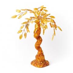Дерево счастья янтарь Россия 25 см