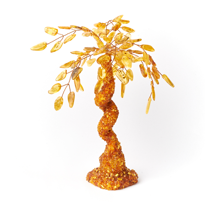 Дерево счастья янтарь 25 см