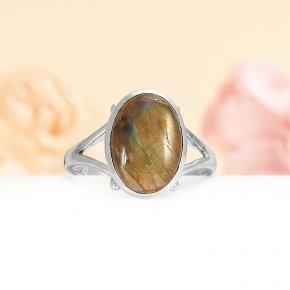 Кольцо лабрадор Мадагаскар (серебро 925 пр.) размер 19