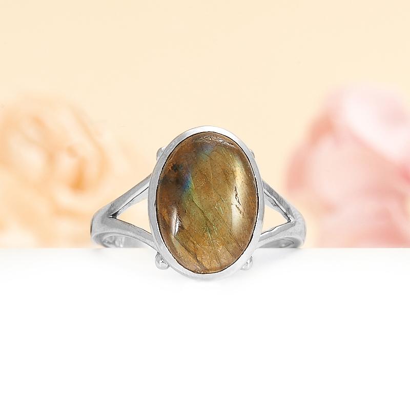 Кольцо лабрадор  (серебро 925 пр.) размер 19 кольцо авантюрин зеленый серебро 925 пр размер 18