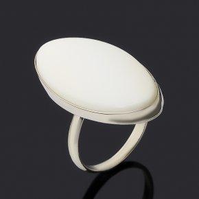 Кольцо кахолонг Россия (нейзильбер) размер 18,5