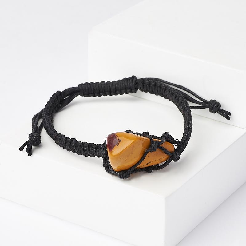 Браслет яшма мукаит (текстиль) шамбала 16 см (регулируемый) браслет яшма мукаит текстиль шамбала 16 см регулируемый