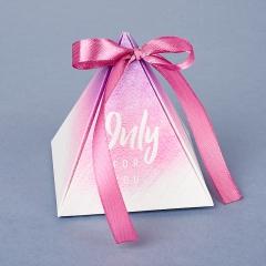 Подарочная упаковка (картон) универсальная (коробка) (микс) 75х70х70 мм