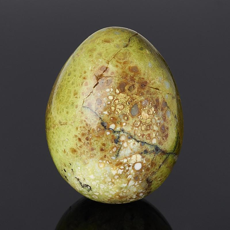 Яйцо опал фисташковый 6 см
