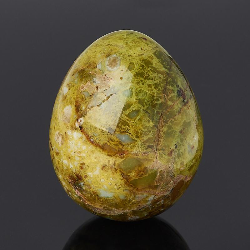 Яйцо опал фисташковый 5,5 см