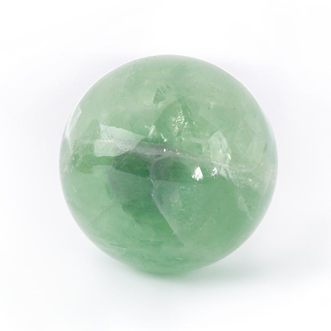 Фото - Шар флюорит зеленый 5 см свеча декоративная proffi шар цвет белый диаметр 7 5 см