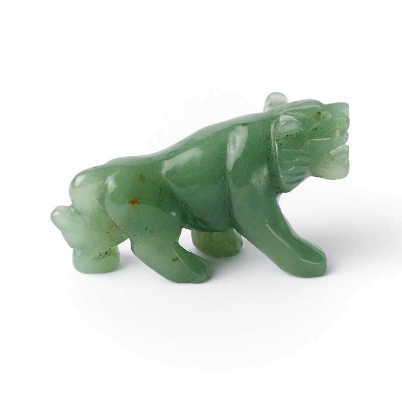 Тигр авантюрин зеленый Зимбабве 7,5 см