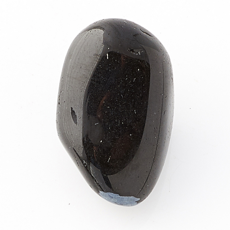 Галтовка обсидиан черный Мексика (1,5-2 см) 1 шт