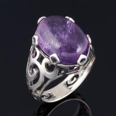 Кольцо аметист Бразилия (серебро 925 пр.) размер 17,5