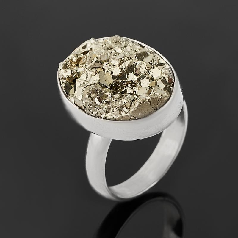Кольцо пирит (серебро 925 пр.) размер 17