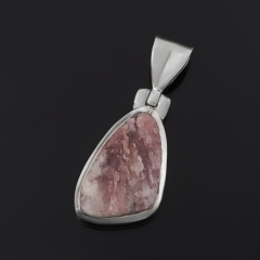 Кулон турмалин розовый (рубеллит) Бразилия (серебро 925 пр.)
