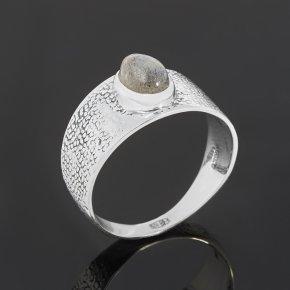 Кольцо лабрадор Мадагаскар (серебро 925 пр. оксидир.) размер 18