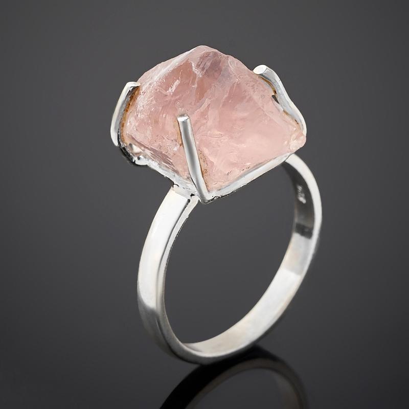 Кольцо берилл розовый (морганит) Бразилия (серебро 925 пр.) размер 19
