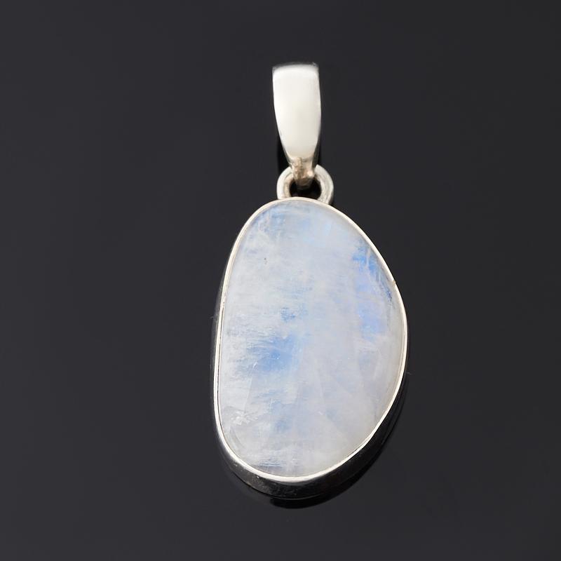 Кулон лунный камень (адуляр) (серебро 925 пр.)