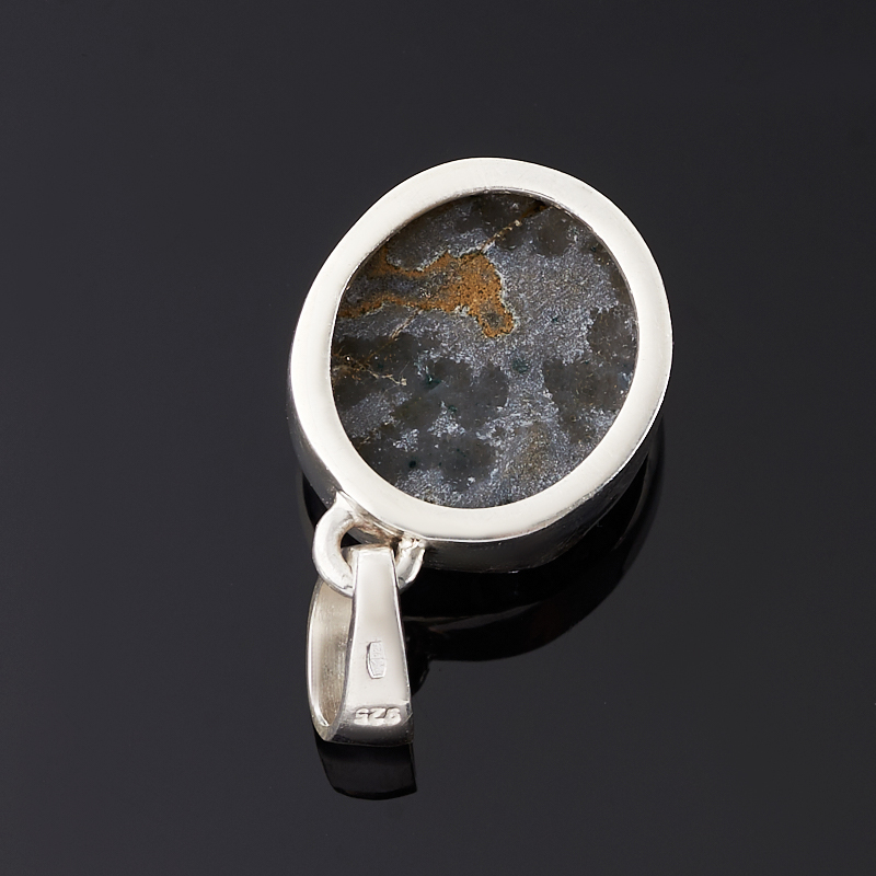 Кулон аметист Бразилия (серебро 925 пр.) друза