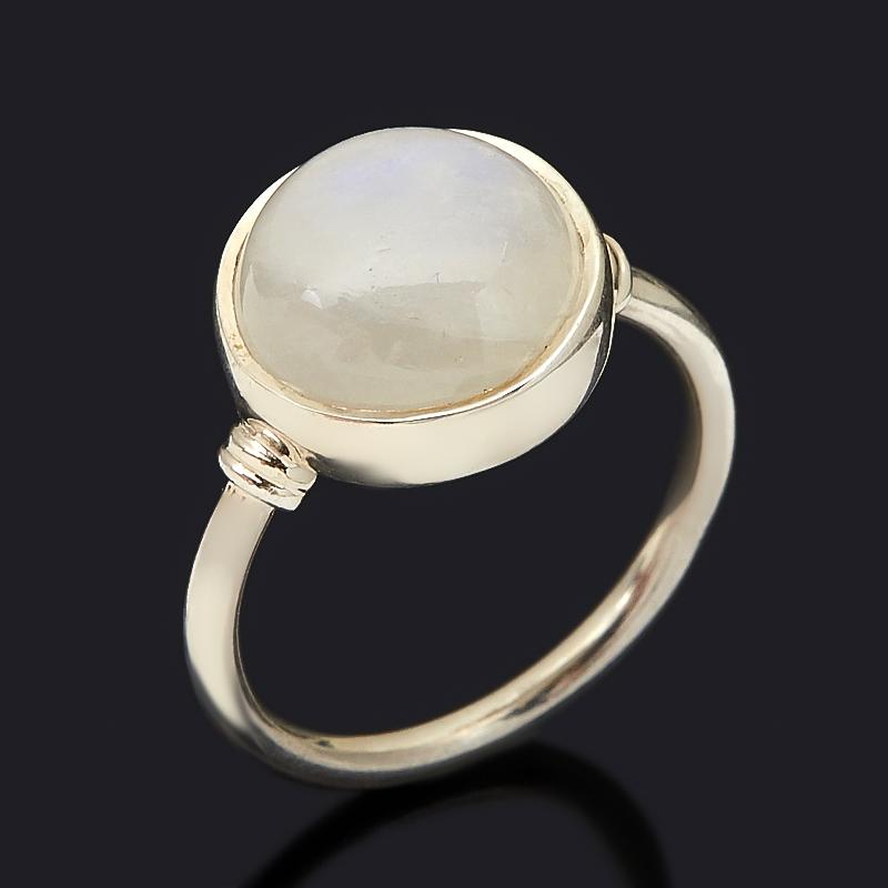Кольцо лунный камень (адуляр) (серебро 925 пр.) размер 16