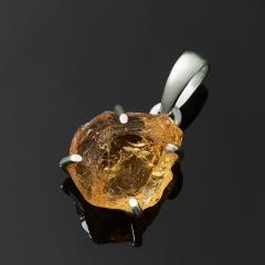 Кулон цитрин Бразилия (серебро 925 пр.)
