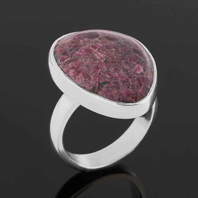 Кольцо эвдиалит  (серебро 925 пр.) (регулируемый) размер 18