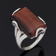 Кольцо бычий глаз ЮАР (серебро 925 пр. родир. бел.) размер 18,5