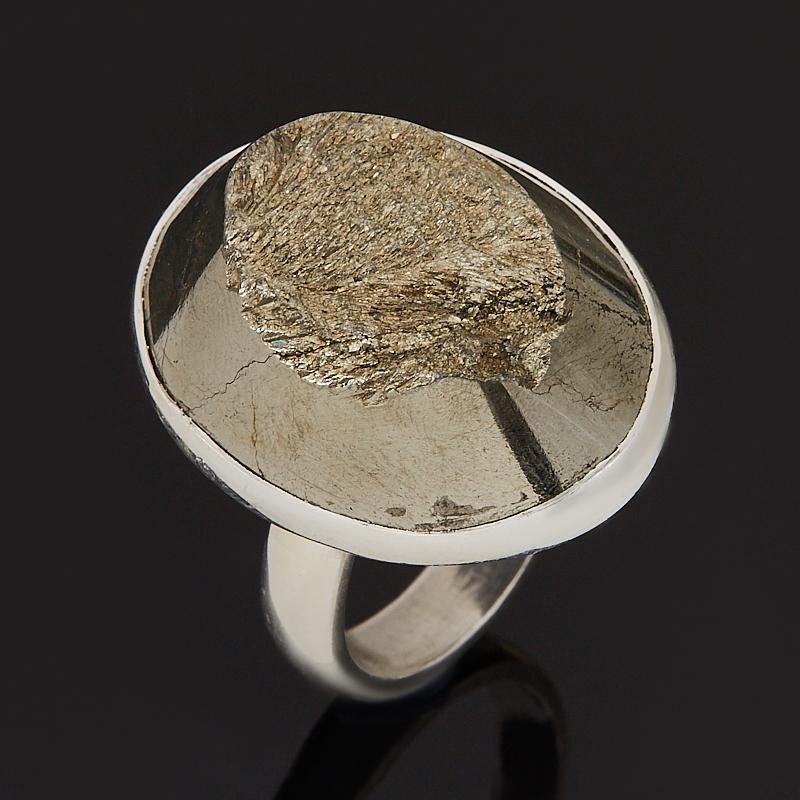 Кольцо пирит (серебро 925 пр.) (регулируемый) размер 17,5
