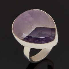 Кольцо аметист Бразилия (серебро 925 пр.) размер 17