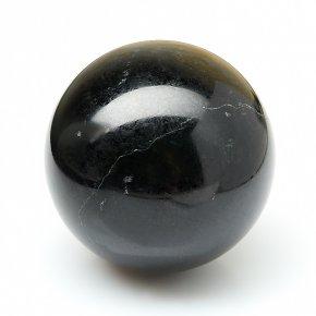 Шар нефрит черный Россия 5 см