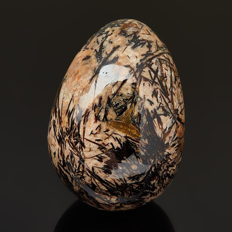 Яйцо астрофиллит 6 см декоративное украшение home queen яйцо на подставке 6 см х 11 см