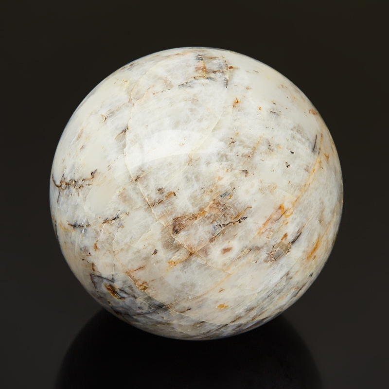 Шар лунный камень (беломорит) 5,5 см