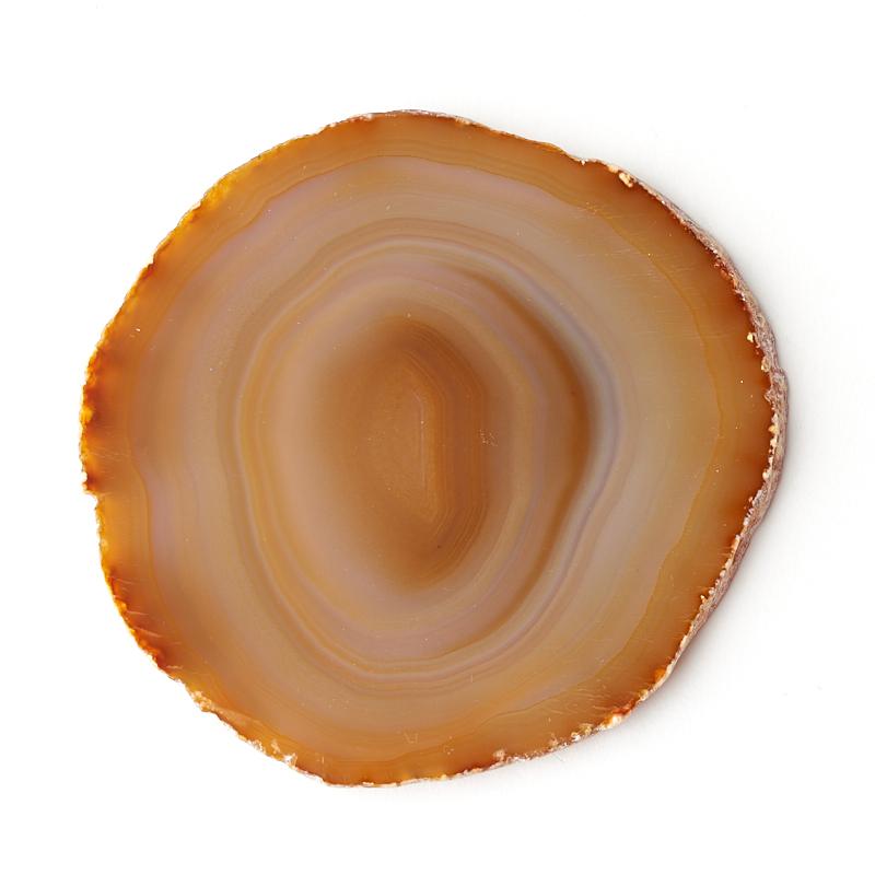 Срез агат серый Ботсвана M (7-12 см)