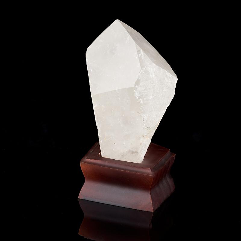 Кристалл горный хрусталь Бразилия L (12-16 см) (на подставке)