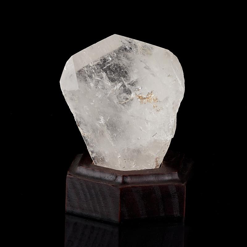 Кристалл горный хрусталь Бразилия M (7-12 см) (на подставке)