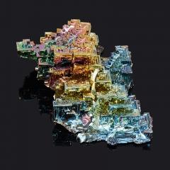 Кристалл висмут (лабораторный) Германия M (7-12 см)