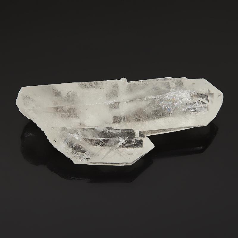 Кристалл горный хрусталь Бразилия (сросток) S (4-7 см)