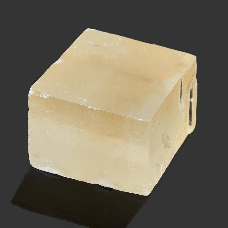 Образец оптический кальцит желтый Бразилия S (4-7 см)