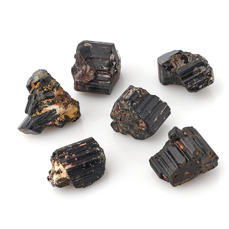 Кристалл турмалин черный (шерл) Бразилия (2,5-3 см) (1 шт)