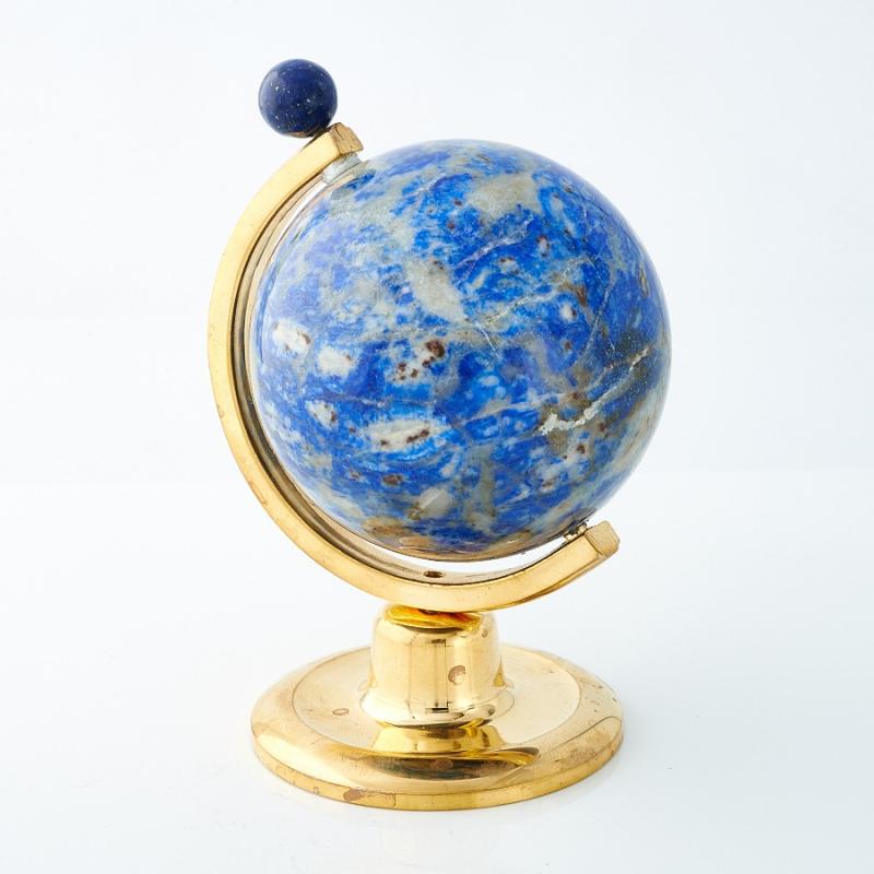 Глобус лазурит  (h=8 см) кабошон лазурит 8 мм