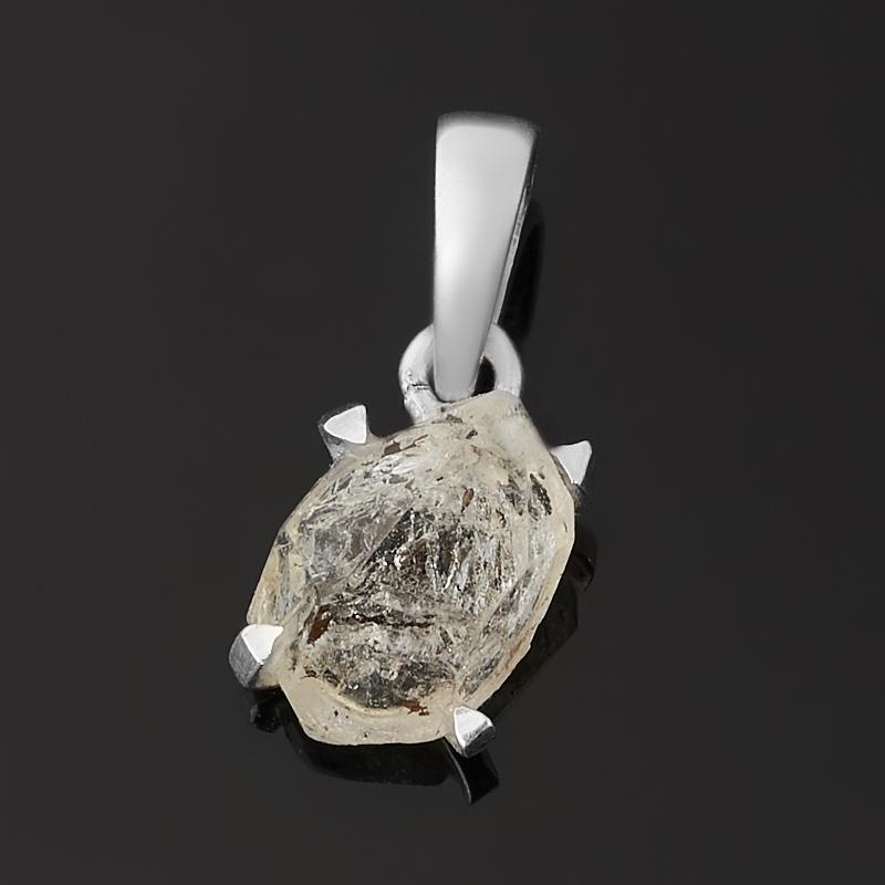 Кулон кварц с хлоритом (серебро 925 пр.)